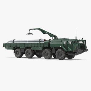 9t234 smerch transporter loader model