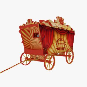 circus vagon model