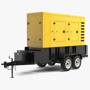 big mobile generator 3D model