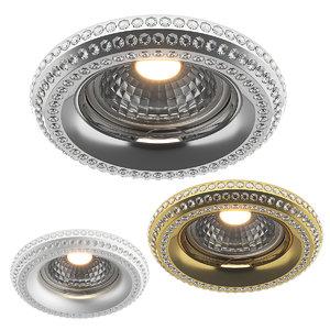 3D model 01199x miriade lightstar recessed
