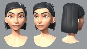 3D character cartoon