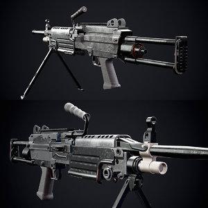 semi automatic rifle fn model