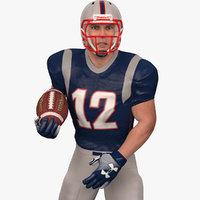 American Football Player 2020 V3 Rigged