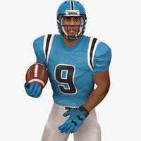 American Football Player 2020 V4 Rigged