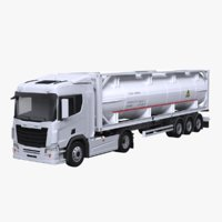 Euro Truck and ISO Tanker Trailer