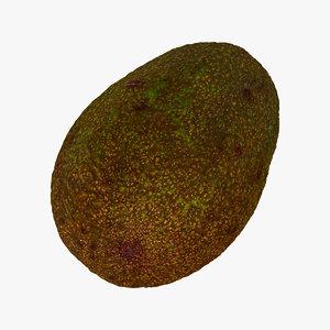 avocado hass 06 seed model