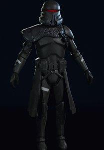 death trooper 3D model