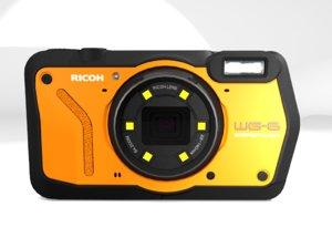 ricoh wg-6 orange 3D model