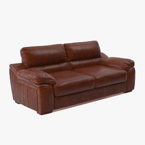 brown leather sofa model