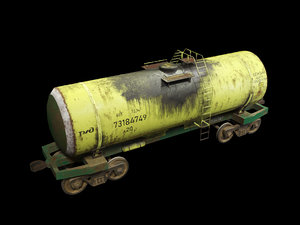 old railway cistern 3D model