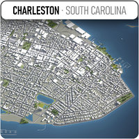 Charleston, South Carolina - city and surrounding area