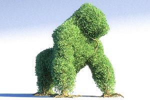 gorilla tree 3D model