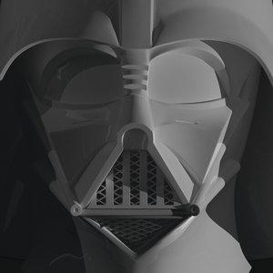 printable darth vader helmets 3D