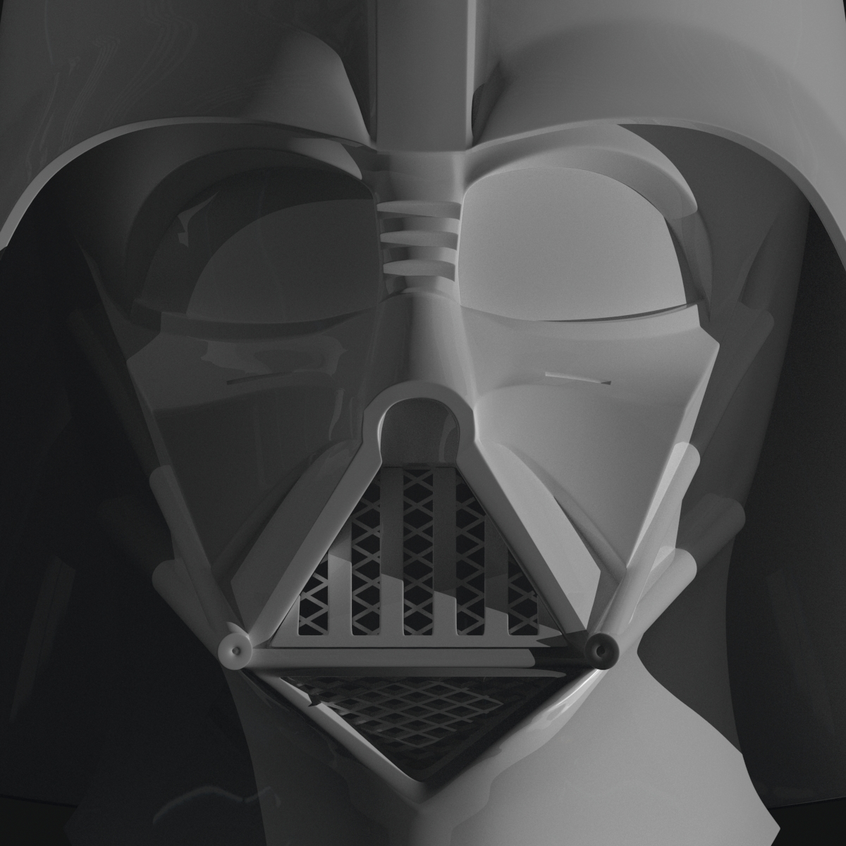This is an image of Darth Vader Mask Printable with regard to drawing