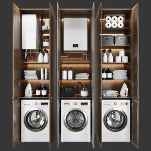 set appliances 3D model