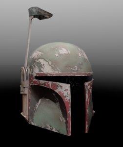 photogrammetry boba fett helmet 3D
