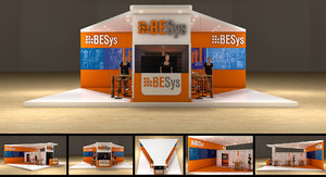 3D exhibition stand