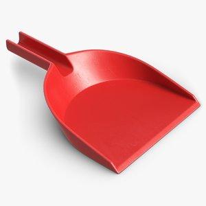 3D dustpan pbr clean model