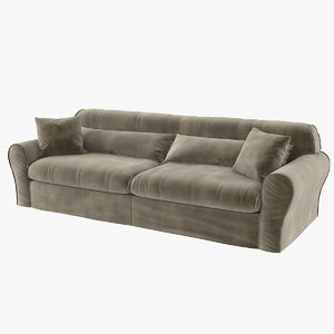 housse leather sofa 3D