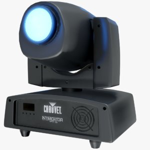 led spot light chauvet 3D model