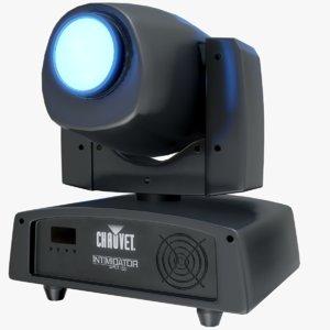 led spot light chauvet 3D model