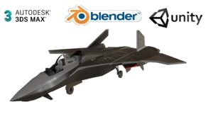 msf-33 stealth multirole fighter 3D model