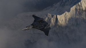 msf-33 stealth multirole fighter 3D model