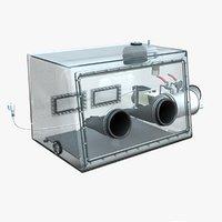 Acrylic Glass Vacuum Glove Box