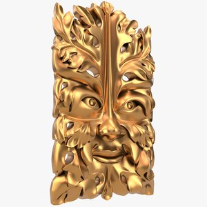 greenman decor cnc 3D model