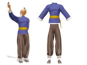 men shogun martial art 3D