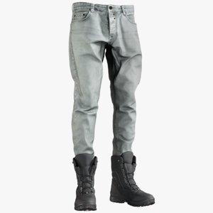 3D realistic men s jeans