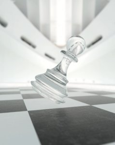 beautiful pawn chess 3D model