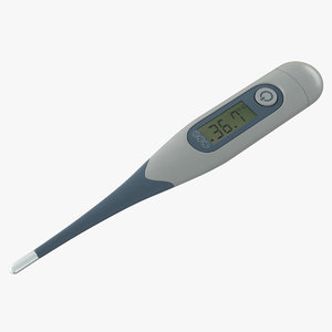 3D digital underarm thermometer