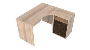 table end 3D model