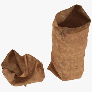 3D sack ready
