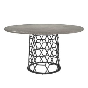 table modern adria dining 3D model