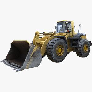 3D loader kumatsu wa470