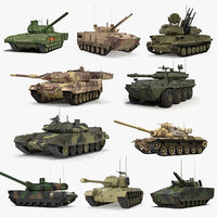 Rigged Tanks Collection 2