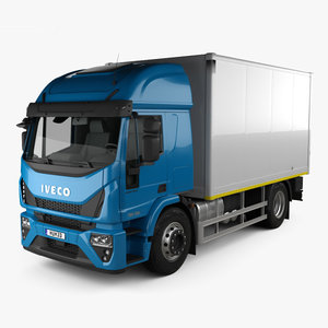 iveco eurocargo box 3D model