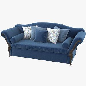 3D model savio firmino 3446a sofa