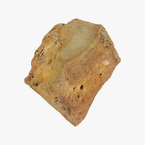 cuneifrom bone intermediate 01 3D model