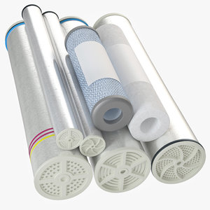 water filters 1 3D