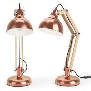 dexter table lamp monoqi 3ds