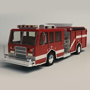 3D stylized model