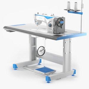 sewing machine jack f4 3D model