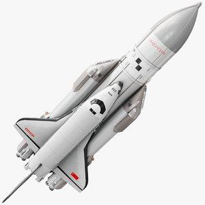 amp buran spaceplane energia 3D