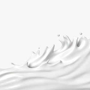 milk splash 3D model