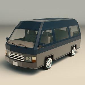 van minivan model