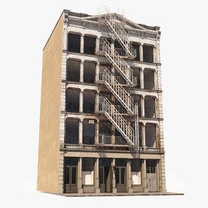 3D soho facade 10 architecture