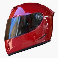 Airoh Motorcycle Helmet Red
